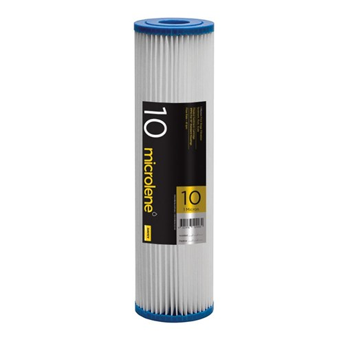 """Davey Filterpure Poly Pleated Filter - 20PP10 (20 Micron 10"""" Cartridge)"""
